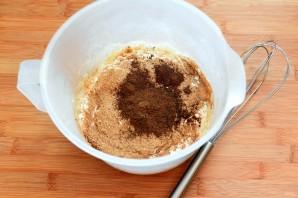 Отрубные блинчики на солоде к малосольной форели - фото шаг 1
