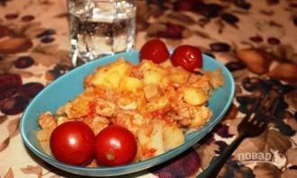 Картофель с мясом - фото шаг 8