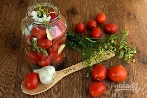 Малосольные помидоры классические - фото шаг 2