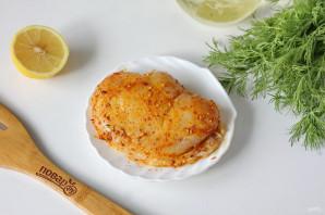 Салат из куриной грудки с сухариками - фото шаг 2