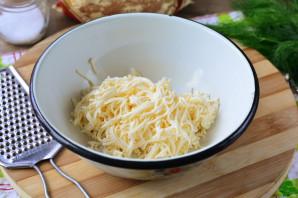 Кабачковый торт с плавленым сыром