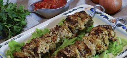 Лучший рецепт шашлыка из говядины - фото шаг 5