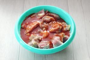 Шашлык в томатном соке - фото шаг 6