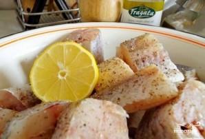Минтай под сливочным соусом в духовке - фото шаг 1