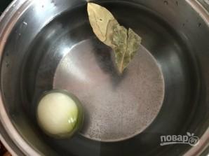Молочный суп с томатами - фото шаг 1