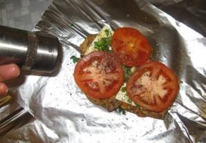 Котлеты в фольге в духовке - фото шаг 13