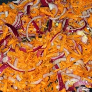 Коричневый рис с овощами - фото шаг 3
