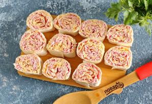 Ленивые пирожки с начинкой - фото шаг 5
