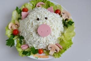 """Салат """"Свинка"""" на Новый год - фото шаг 9"""