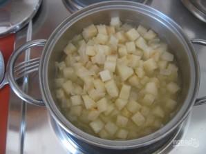 Овощной крем-суп с сухариками - фото шаг 6