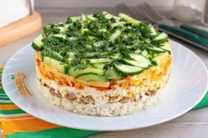 Слоеный салат «Лесная загадка» - фото шаг 10