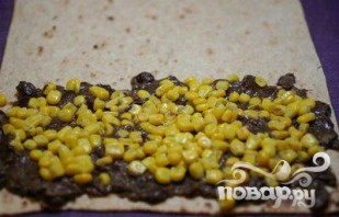 Макароны с фасолью, кукурузой и цыпленком - фото шаг 3