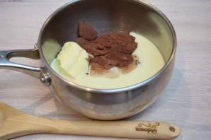 Шоколадная колбаса - фото шаг 3