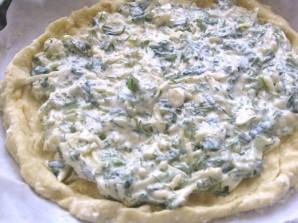 Хачапури с творогом и сыром в духовке - фото шаг 3