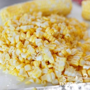 Кукурузный суп с чили - фото шаг 2