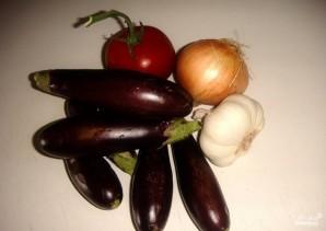 Суп-пюре из баклажана - фото шаг 1