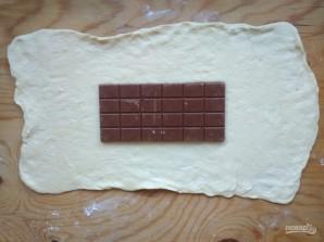 """Шоколадная рыбка"" - фото шаг 2"