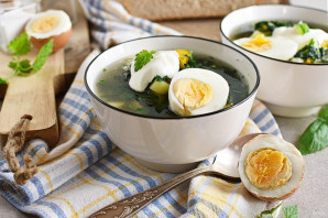 Суп с крапивой - фото шаг 10