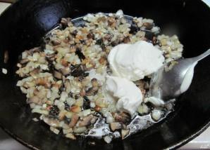 Картошка, фаршированная шампиньонами - фото шаг 2