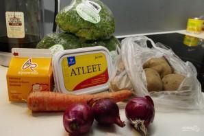 Овощной суп-пюре с брокколи - фото шаг 1