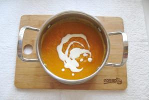 Тыквенный суп-пюре с мясом - фото шаг 9
