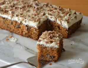 Морковный пирог с топпингом - фото шаг 11