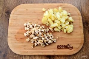 Пряный картофельный салат с курицей - фото шаг 4