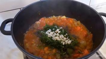 Овощное соте с кабачком и баклажаном - фото шаг 5
