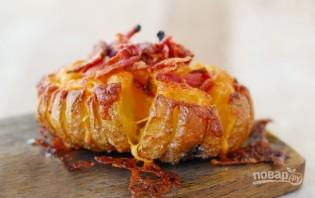 Запеченная картошка в духовке с сыром - фото шаг 7