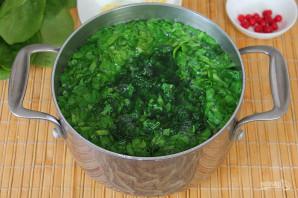 Суп с крапивой и шпинатом - фото шаг 6