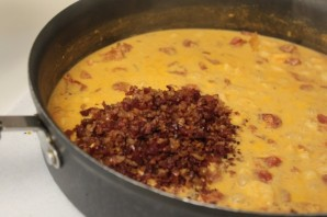 Паста с беконом и креветками - фото шаг 4