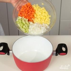 Лапша с говядиной и овощами - фото шаг 1
