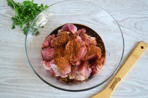 Шашлык из свинины в соевом соусе - фото шаг 3