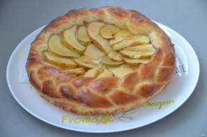 Дрожжевой пирог с грушами - фото шаг 13