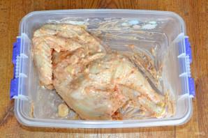 Курица на мангале целиком - фото шаг 5
