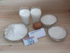 Кокосовый кухен - фото шаг 1