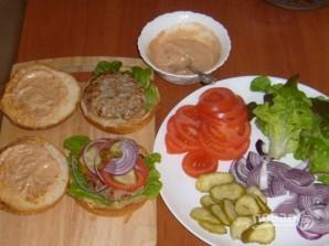 Гамбургер - фото шаг 5