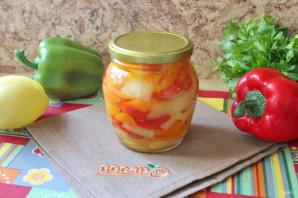 Маринованный болгарский перец без стерилизации - фото шаг 10