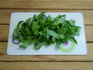 Салат зеленый - фото шаг 2