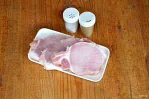 Стейк из свинины на мангале - фото шаг 1