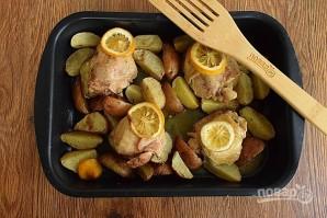 Курица, запеченная с лимоном и травами - фото шаг 5