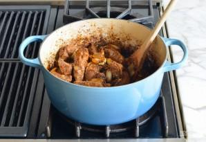 Жаркое из говядины с овощами - фото шаг 7