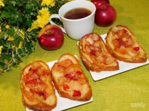 Французские гренки с яблоками - фото шаг 4