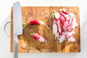 Салат легкий без майонеза - фото шаг 1