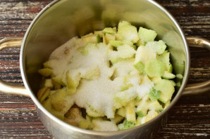 Варенье из кабачков и яблок - фото шаг 5