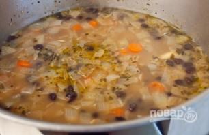 Суп из чёрной фасоли - фото шаг 5