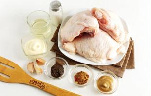 Курица жареная - фото шаг 1