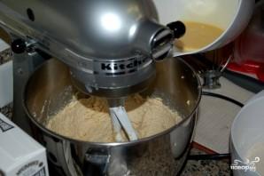Овсяное печенье с грецкими орехами - фото шаг 1