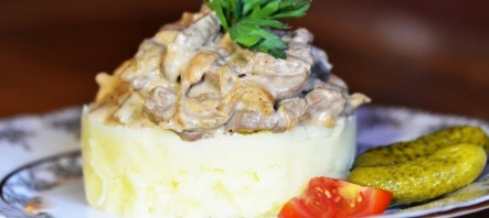 Говядина с белыми грибами - фото шаг 6