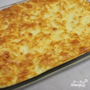 Картофельная запеканка с фаршем и грибами - фото шаг 16